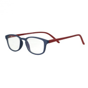 LianSan Titanium Lightweight Reading Glasses Men Fashion Rimless Readers Glasses Womens 8085