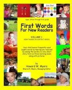 First Words for New Readers