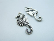 50pcs 12x28mm Antique Silver Lovely Hippo Campus Charms Pendant C7796