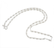 Godagoda Silver Colour Link Chain Necklace Pack of 10pcs