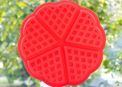 Round shaped silicone baking moulds waffles mould