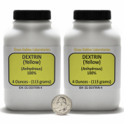 Yellow Dextrin [(C6H10O5)n] 100% ACS Grade Powder 240ml in Two Bottles USA