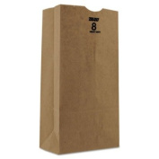BAGGH8500 Kraft Paper Bags, Heavy-Duty, 3.6kg., Brown