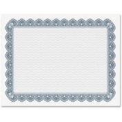 GEO22901 Parchment Paper Certificates, 8-1/2 x 11, Blue Royalty Border, 50/Pack