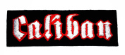 Caliban Logo Metal Music Band Woven Applique Patch New with High Quality for Your Cloth By Jupeter