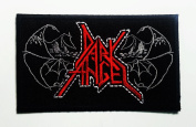 Dark Angel Heavy Metal Rock Punk Music Band Logo Patch Sew Iron on Embroidered Polo T-shirt Vest Cloth New with High Quality for Your Cloth By Jupeter