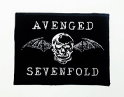Avenged Sevenfold Logo Iron on Sew on Embroidered Heavy Metal Patch New with High Quality for Your Cloth By Jupeter