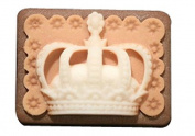 Creativemoldstore 1pcs Crown (H0060) Craft Art Silicone Soap Mould Craft Moulds DIY Handmade Soap Mould