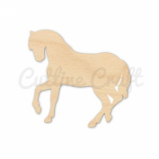 Horse Style 2006, Wooden Cutouts, Crafts Embellishment, Gift Tag or Wood Ornament