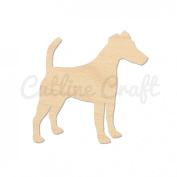 Smooth Fox Terrier Dog Style 3015, Wooden Cutouts, Crafts Embellishment, Gift Tag or Wood Ornament