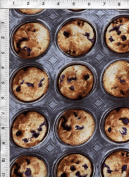 "Kanvas ""Bake Sale"" Blueberry Muffin Tin Fabric"