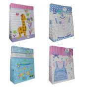 Baby Bag Gift Bags, Matt Giant, 12 Piece Pack, Giant