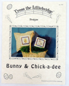 Cross the Lilliebridge Bunny & Chick-a-dee Counted Cross Stitch Pattern 1118