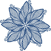 Elegant Medallion Number 2 Cross Stitch Pattern