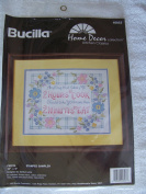Fiesta Stamped Sampler Cross Stitch Kit