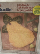 Bucilla Latch Hook Kit Pear 41cm X 60cm