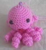 Aberdeen car octopus pendant small craft Brand new/ small kids girls only/Grand east Wool weave Animals-toys PLUSH birthday party gift CUTE-0788 LOVELY