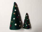 Purl & Loop Needle Felted Evergreen Holiday Tree Kit-Tall