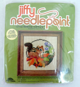 Jiffy Needlepoint Kit Little Meadow Chipmunk 5454 by Donna Enstaff