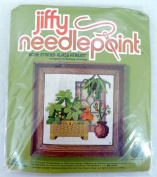Jiffy Needlepoint Rose Stained Glass Atrium Kit 5268 by Barbara Jennings