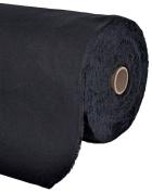 Anti Tarnish Silver Cloth, Black, By the Yard