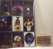 Masters of Fantasy Metallic Fantasy Art Trading Cards Base Set