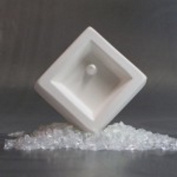 Holey Casting Square Mould for Glass Jewellery
