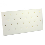 Pendant Pad (26 Hooks) White Jewellery Display