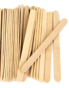1000 Natural Standard Size Wood Craft Sticks Natural Popsicle Stick