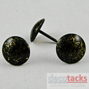 Decotacks Upholstery Nails/tacks 1.6cm - 100 Pcs [Antique Z Finish]