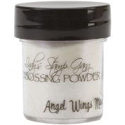 Lindy's Stamp Gang 2-Tone Embossing Powder, 15ml Jar, Angel Wings Mauve