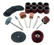 GreatNeck 80135 Rotary Tool Accessory Kit, 31-Piece