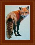 Looking Foxy Counted Cross Stitch Kit By Orcraphics