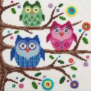 Canoodles-- Owls-- Needlepoint Kit