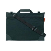 Prat Paris SF2 Softside Portfolio Holder, 80cm x 60cm Soft Bag for Transporting Photographs, Artwork & Documents, Black