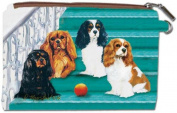 Cavalier King Charles Zipper Pouch