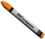 IMC Marks Heavy Duty Lead-Free Non-Toxic Hex Shape Eco Lumber 200 Crayon, Orange