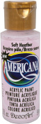 DecoArt Americana Acrylic Paint, 60ml, Soft Heather