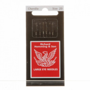 Richard Hemming Chenille Hand Sewing Embroidery Needles Package of 6