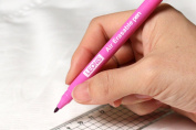 LEONIS 10 Air Erasable Marking Pens Pink [ 78010 ]
