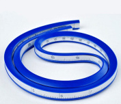 24 Inch (60cm) Flexible Curve Ruler for designers and pattern makers easy to use accurate