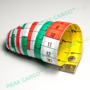 hoechstmass Soft Tape Measures Sewing Rulers Dual-Sided (cm/inch) 150cm/ 60inch with Colour Decimetre Divisions