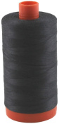 Aurifil Thread 4241 Very Dark Grey (Almost Black) Cotton Mako 50wt Large Spool 1300m