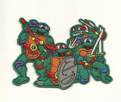 TEENAGE MUTANT NINJA TURTLES EMBROIDERED IRON ON/SEW ON PATCH