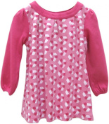 Little Green Radicals organic Fairtrade cotton Recycle Print Dress