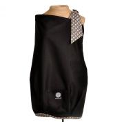Balboa Baby Nursing Cover, Black with Diamond Trim
