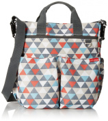 Skip Hop Duo Signature Nappy Bag, Triangles