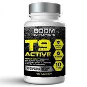 T9 Fat Burners | T9 Slimming Pills | Powerful Slimming Pills | 60 Thermogenic Diet Pills | 1 Month Supply | Burns Fat Fast For Men And Women | Speed Up Weight Loss, Increase Energy And Maximise Your Workout With Enhanced Mental Focus | Safe And Effecti ..