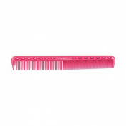 YS Park 337 Round Tooth Professional Hair Cutting Pink