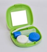 Sports Vision's New Contact Lens Travel Kit - Green Colour Available CE Marked & FDA Free PP